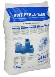 BWT Perla TABS 25 kg, Regeneriesalz für Enthärtungsanlagen Salztabletten