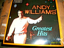 ANDY WILLIAMS GREATEST HITS  LP