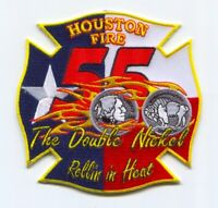 Houston Fire Department Station 55 Patch Texas TX v2