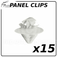 Panel Clip Bodysides Trim Clips Citroen C4 Pack of 15 Pt11338 Enc in Plastic Bag