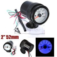 "Car Auto 2"" 52mm Digital LED Tacho Tachometer Gauge Meter 0-8000 RPM Universal"
