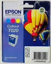Epson T020 Cartridge Ink Jet Original Colour For Epson Stylus Color 880