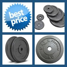 5KG A-GRADE CLUB Series Standard Size  CAST IRON COMMERCIAL GYM WEIGHT PLATE