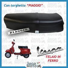Sella VESPA PX PE 125 150 200 Serie Arcobaleno CON SCRITTA PIAGGIO e BASE FERRO