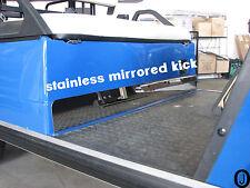YAMAHA G1 golf cart Mirrored Stainless Steel Kick plate