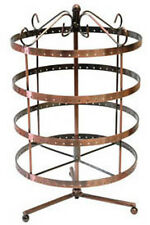 EARRING ROTATING COPPER DISPLAY STAND REVOLVING 96