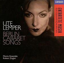 NEW - Ute Lemper - Berlin Cabaret Songs
