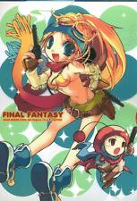 Final Fantasy 10 X Tactics Advance Clear File Folder Rikku Shara Marche Moogle