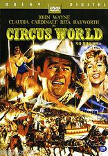 Circus World - John Wayne Rita Hayworth Claudia Cardinale (NEW) Classic DVD