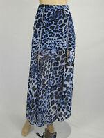 T by Bettina Liano Ladies Animal Magic Long Skirt size 8 Colour Multi Print