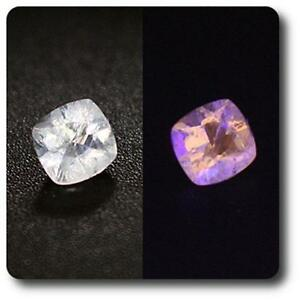 HACKMANITE UV COULEUR CHANGEANTE. 0.17 cts.  IF. Pakistan
