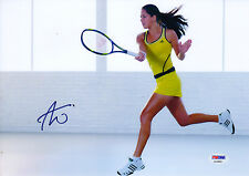 ANA IVANOVIC WORLD TENNIS STAR SIGNED SUPERB ACTION PHOTO PSA