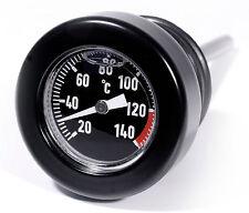 Öl Messstab Schwarz Celsius Temperatur Peilstab Thermometer f Harley Softail 99-