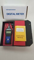 Digital Photo, Contact, Surface Tachometer  T&E Tools DT2858 for timing diesel e