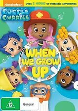 BUBBLE GUPPIES : WHEN WE GROW UP    - DVD - UK Compatible sealed
