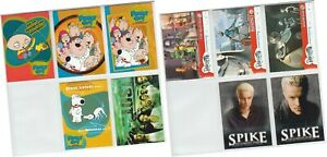 Inkworks 2004 - 10 Assorted Card Promo Pack - Family Guy, Lost, Robots, Spike