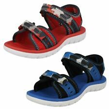 Clarks Kinder Sandalen Surfen Wellen Sandalen blau oder rot
