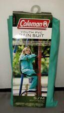 Coleman PVC Youth S/M Rain Suit