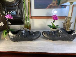 SIDI Cycling Shoes Black Size 45 EXCELLENT Shape