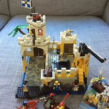 Vintage LEGO Pirates Imperial El Dorado Fortress # 6276 w/ Instructions.