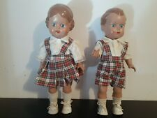 1930's Schildkrot Turtle Mark Dolls pair no reproduction German celluloid Puppe