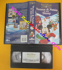 VHS film VACANZE DI NATALE IN CASA WALT DISNEY 2003 animazione 5170(F137) no dvd