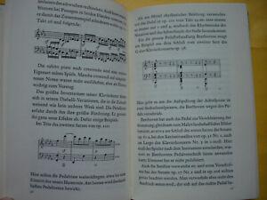 IB 853 Edwin Fischer KLAVIERSONATEN Beethoven Abb.EA 1966 selten Inselbücherei