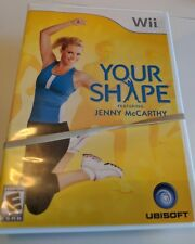 Wii Game - Your Shape, Jenny McCarthy with Camera