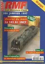 """RMF N°386 242 AI SNCF / DECOR : REMISE DE RPI / ZONE """"G"""" LA """"UNCLE MEAT Cie"""""""