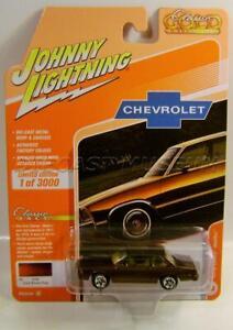 1973 '73 CHEVY MALIBU BROWN V/A CLASSIC GOLD JOHNNY LIGHTNING DIECAST 2021