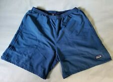 Vintage Patagonia Baggies Swim Trunks Lined Shorts Nylon Blue Size M