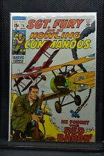 Sgt Fury and His Howling Commandos #76 Marvel Comic 1970 Stan Lee Dick Ayers 4.5