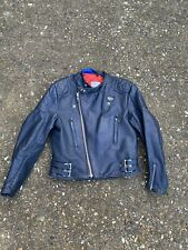 "1970's Vintage aviakit Lewis leathers  Motorcycle Jacket Size Large 38"" Chest"