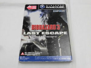V3079 Nintendo GameCube Biohazard 3 Last Escape Japan GC w/box