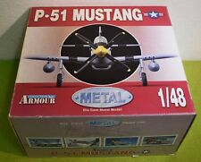 ARMOUR AVIATION 1/48 SCALE P-51 MUSTANG USAAF WW II ACES METAL DIE-CAST 98005