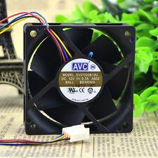 AVC 7020 DV07020B12U Fan 12V 0.7A 4pin 70*70*20mm PWM Chassis Cooling Fan