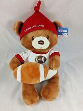 Baby Gund Little All Pro Football Bear Rattle Plush 4050502 Stuffed Animal