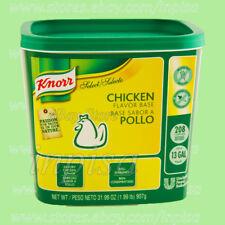 KNORR CHICKEN BASE 3 Jars x 31.99oz (1.99lb)(907g)GLUTEN FREE BASE SABOR A POLLO