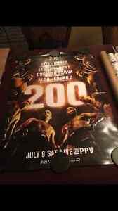 UFC 200 Poster - Daniel Cormier vs. Anderson Silva