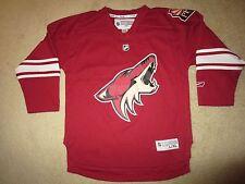 Arizona Coyotes Nhl Hockey Red Reebok Jersey Youth Xl 18-20 children
