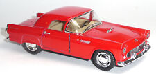 NEU: 1955 Ford Thunderbird rot 1:36 Oldtimer Sammlermodell von KINSMART Neuware!