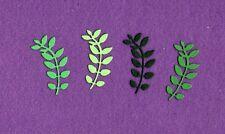 IVY 4 leaf die cuts scrapbook cards