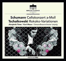 MASUR/TIMM/+ - WERKE FÜR VIOLONCELLO   CD NEU SCHUMANN/TSCHAIKOWSKY/BACH