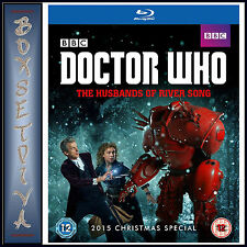 DOCTOR WHO 2015 CHRISTMAS SPECIAL - THE HUSBANDS OF RIVER SONG *BRAND NEW***