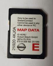 Nissan LCN2 CONNECT 3 Satellite Navigation Sat Nav Europe SD Card 25920 4KJ0A