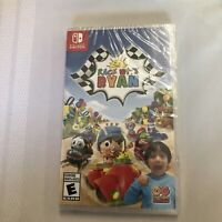 NINTENDO SWITCH RACE WITH RYAN BRAND NEW SEALED