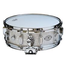"Rogers Dynasonic 5"" x 14"" Wood Shell Snare Drum - White Marine Pearl"