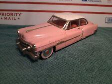 Vintage Tin Friction Car Japan  53 ? CADILLAC   50's FIFTIES