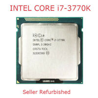 Intel Core i7-3770K CPU 3.5 GHz LGA 1155 4Cores 22 nm Quad-Core Processor USED