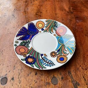Villeroy & Boch Acapulco Coffee Saucer ONLY Old Vintage Retro Kitsch MCM